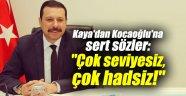 """AK Partili Kaya'dan Kocaoğlu'na sert sözler: """"Çok seviyesiz, çok hadsiz!"""""""