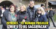 """AK Partili Zeybekci, """"10 Numara projeler İzmir'e iş-aş sağlayacak"""""""