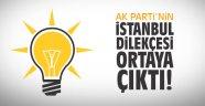 AK Parti'nin 'İstanbul' dilekçesi ortaya çıktı