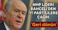 Bahçeli, İYİ Parti kurultayı için çağrıda bulundu