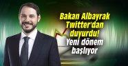 Bakan Albayrak Twitter'dan duyurdu! Yeni dönem başlıyor