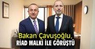 Bakan Çavuşoğlu Filistinli mevkidaşı ile bir araya geldi!