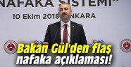 Bakan Gül'den flaş nafaka açıklaması!