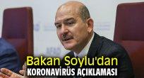 Bakan Soylu'dan koronavirüs açıklaması