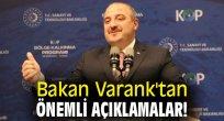Bakan Varank'tan önemli açıklamalar!