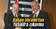 Bakan Varank'tan TÜSİAD'a çıkarma