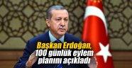 Başkan Erdoğan, 100 günlük eylem planını açıkladı