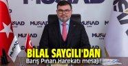 Bilal Saygılı'dan Barış Pınarı Harekatı mesajı!