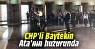 CHP'li Baytekin Ata'nın huzurunda