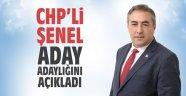 CHP'li Şenel, aday adaylığını açıkladı