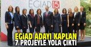EGİAD adayı Kaplan, 7 projeyle yola çıktı