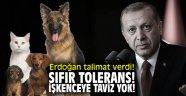 Erdoğan talimat verdi! Sıfır tolerans; işkenceye taviz yok!
