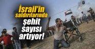 İsrail'in saldırılarında şehit sayısı artıyor!