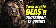İstanbul'da terör örgütü DEAŞ'a operasyon: 12 gözaltı