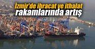 İzmir'de ihracat ve ithalat rakamlarında artış