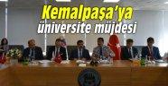Kemalpaşa'ya üniversite müjdesi
