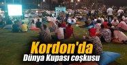 Kordon'da Dünya Kupası coşkusu