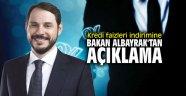 Kredi faizleri indirimine Bakan Albayrak'tan açıklama