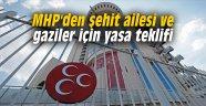 MHP'den şehit ailesi ve gaziler için yasa teklifi