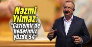 """Nazmi Yılmaz: """"Gaziemir'de hedefimiz yüzde 54"""""""