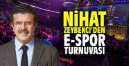 Nihat Zeybekci'den E-Spor turnuvası