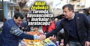 """Nihat Zeybekci: """"Tarımda, hayvancılıkta markalar yaratacağız"""""""