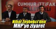 Nihat Zeybekci'den MHP'ye ziyaret