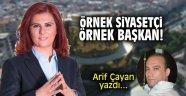 Örnek siyasetçi, örnek başkan: Özlem Çerçioğlu!