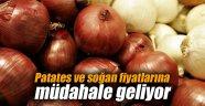 Patates ve soğan fiyatlarına müdahale geliyor