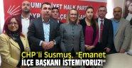 Pınar Susmuş, ilçe başkanlığı adaylığını açıkladı!
