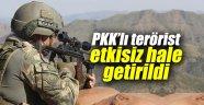 PKK'lı terörist etkisiz hale getirildi