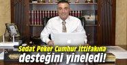 Sedat Peker Cumhur İttifakına desteğini yineledi!