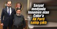Sosyal medyada fenomen olan Çakır'a AK Parti sahip çıktı