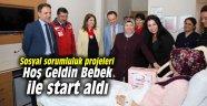 Sosyal sorumluluk projeleri Hoş Geldin Bebek ile start aldı