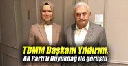 TBMM Başkanı Yıldırım, AK Parti'li Büyükdağ ile görüştü