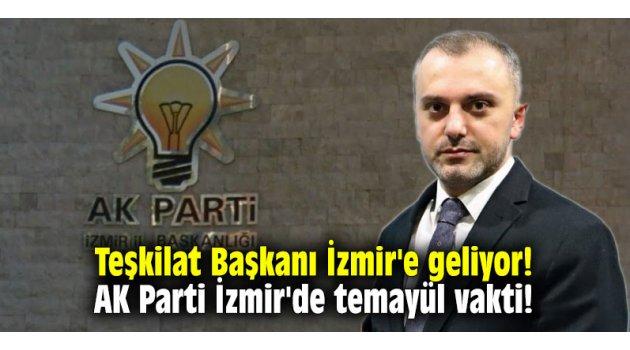 Teşkilat Başkanı İzmir'e geliyor! AK Parti İzmir'de temayül vakti!