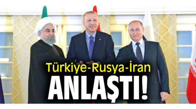 Türkiye-Rusya-İran anlaştı! Anayasa komitesi tamam