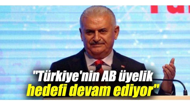 """""""Türkiye'nin AB üyelik hedefi devam ediyor"""""""
