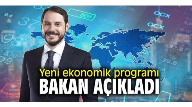 Yeni ekonomik programı Bakan Albayrak açıkladı