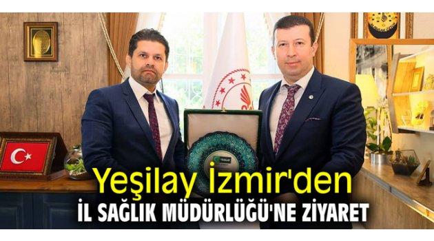 Yeşilay İzmir'den İl Sağlık Müdürlüğü'ne ziyaret